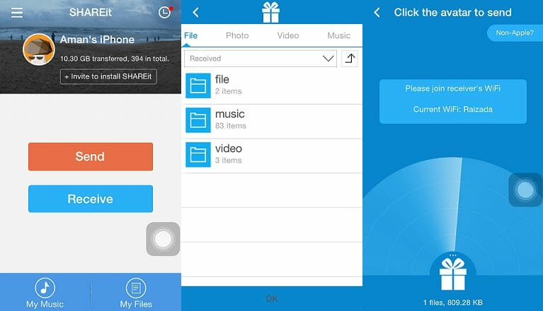Download SHAREit For Mac, iPhone and iPad - Insetup