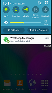 WhatsApp For Samsung Galaxy Device step 6